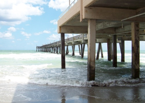 Fishing Pier at Dania Beach, Florida