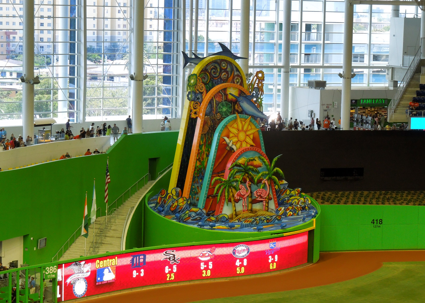 Marlins Park Quot And The Days Dwindle Down Quot