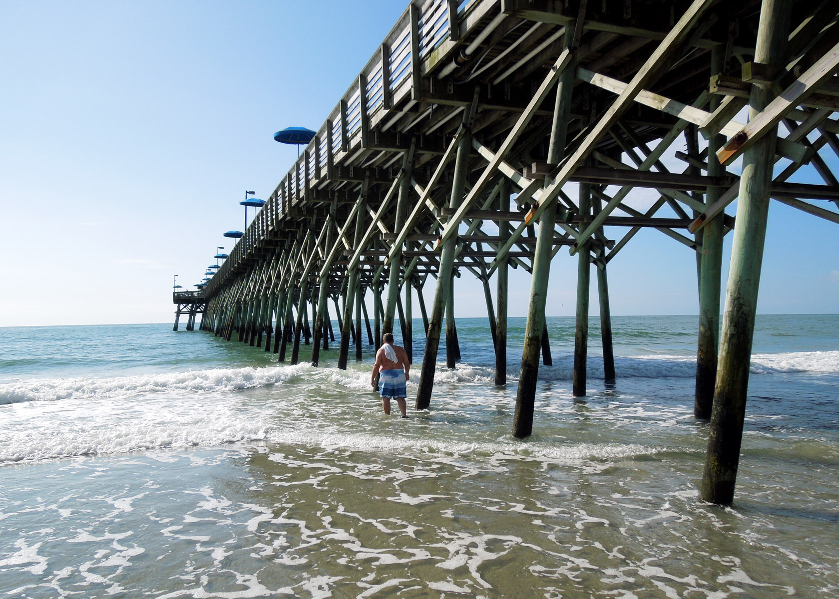 Myrtle beach picture post and the days dwindle down for Fishing piers in myrtle beach