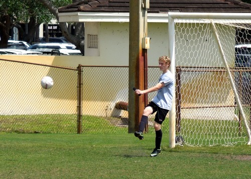 Goalie Practice 1